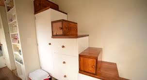 Simple Stairs Design For Small House Another Couple Living In A Debt Free Tiny House Meet Shaye U0026 Tom