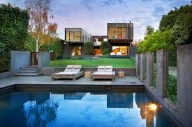 creative idea ultra modern home with modern concrete pool feat