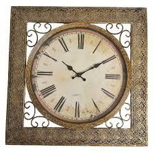 best metal wall clocks in 2017 newdealcoupons