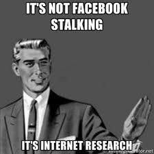 Memes About Stalkers - facebook stalker girl meme google search lol pinterest