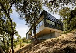 Cantilever Home by Gorgeous House For Mobility Impaired Cantilevers Over Steep Slope