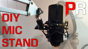 Ikea Desk Stand by Ikea Hack Diy Microphone Desk Stand Youtube