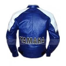 blue motorbike jacket yamaha leather jacket racing blue motorcycle jacket
