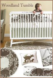 Dwell Crib Bedding Dwellstudio Woodland Tumble Crib Set This Set And Want It