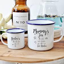 mothers day mugs personalised fathers day matching me enamel mugs