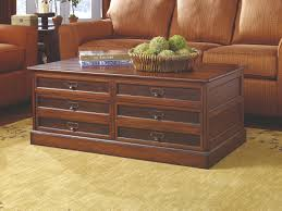 Coffee Table With Dvd Storage Furniture Wooden Table With Drawers By Hammary Furniture On