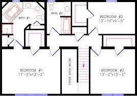 House Plans Colonial Fun 2 28x38 House Plans Colonial Modern Hd