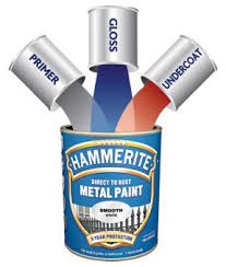 Exterior Metal Paint - hammerite rust paint direct to rust metal paint hammered finish