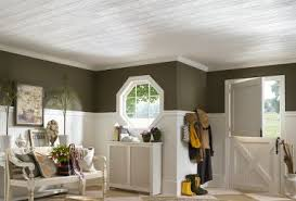 planked panels wood look ceiling panels armstrong ceilings residential