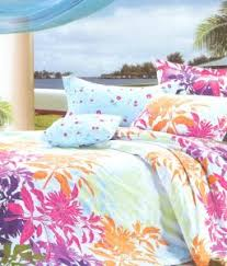 best bed sheets for summer buy valtellina summer print 2 single bed sheets with 2 pillow