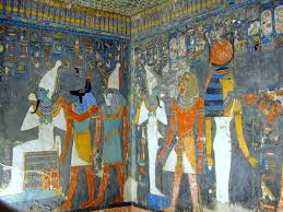 the symbolic use of color in ancient egyptian art shadows of the sun