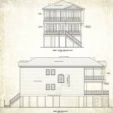 north carolina custom beach house plans obx