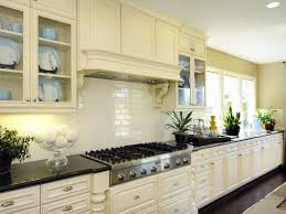 creative subway tile backsplash ideas kitchen design off white