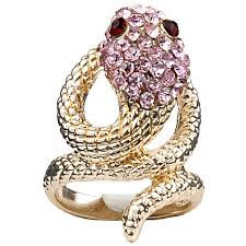 jewellery rings images images Buy women gifts costume jewellery rings fashion gold coiled snake ring jpg