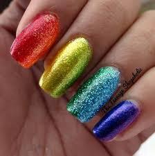 piggieluv cracked glitter nail art nail art glitter gel acrylic