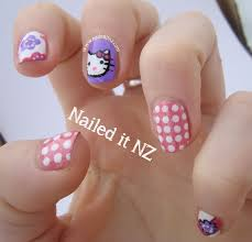 four nail designs the great gatsby hello kitty times two