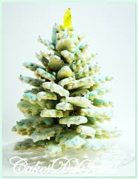 christmas tree cookie christmas lights decoration
