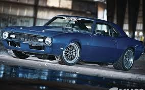 blue 68 camaro eric mcclellan s blue hour 68 camaro in camaro performers magazine