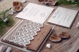pocket wedding invitation kits rustic wedding invitations lace invitations pocket wedding
