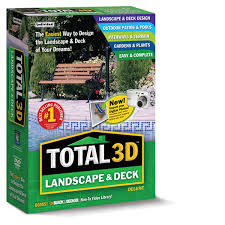Home Design 3d Library Total 3d Landscape U0026 Deck Deluxe Individual Software