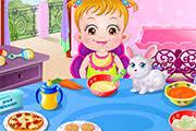 jeux de cuisine pour bébé bébé hazel fait des courses à l épicerie pour préparer le repas