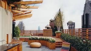 Rooftop Patio Design New York Decks Al Terry Design Custom Roof Decks And Gardens