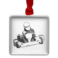 go kart racing ornaments keepsake ornaments zazzle