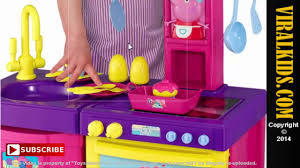 Barbie Kitchen Set For Kids Peppa Pig Cook N Play Kitchen Set Review Video Dailymotion