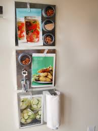 maximize space with diy magnetic shelves in the kitchen hgtv