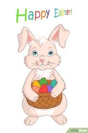 bunny easter 3 ways to draw the easter bunny wikihow