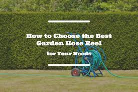 best wall mounted hose reel how to choose the best garden hose reel for your needs my sweet home