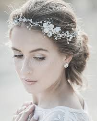 bridal headband bridal headbands pearl wedding headband hairstyles for