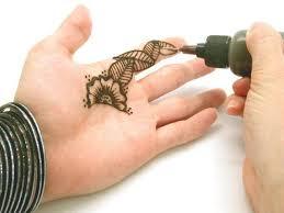 fun u0026 easy henna tattoo kit 2 henna cones u0026 applicator bottle w