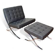 sedia barcellona poltrona e poggiapiedi barcellona