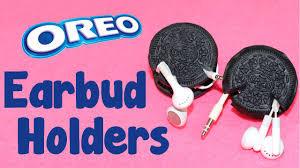 diy crafts how to make oreo cookie earbud holders diy earphone