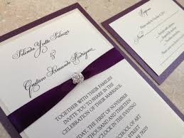 bling wedding programs 13 best images about kenjas wedding on purple and gold