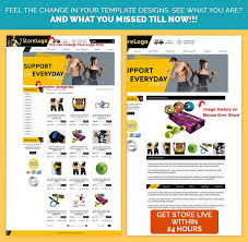 professional ebay listing template fitness apparels theme