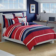 Red And White Comforter Sets Red And White Bedding Bar Iii Bedding Marquee Twin Twin Xl