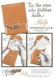 Rolf S Nyc Clothing Accessory Ads Advertisement Gallery