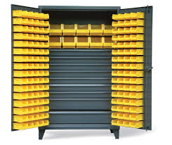 strong hold products bin cabinet with 9 drawers