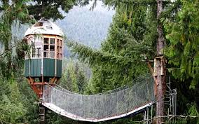 Cedar Creek Treehouse Ashford WA  Worlds Coolest TreeHouse