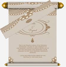wedding invitation designs henna pattern wedding email scroll pages