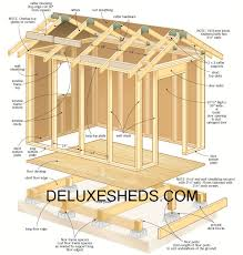 garage construction plans get over 12000 construction plans at deluxesheds com backyard