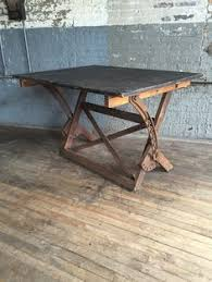 Antique Drafting Table Hardware Large Antique Drafting Table Cast Iron Hardware Oak And Maple