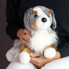 australian shepherd gifts australian shepherd stuffed toy for seniors and people with