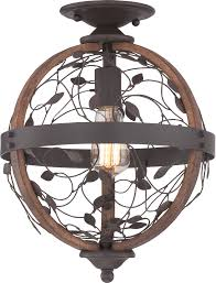 Quoizel Flush Mount Ceiling Light Quoizel Chb1612dk Chamber Vintage Darkest Bronze Ceiling Light