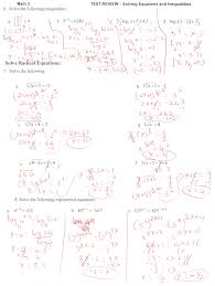 equations and inequalities test jennarocca