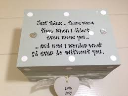 sentimental gifts for personalised chic special friend gift sentimental trinket jewellery box