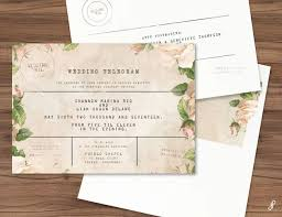 Telegram Wedding Invitation Vintage Telegram Invitation