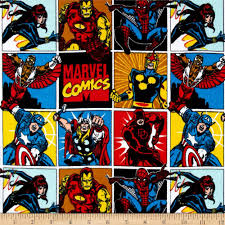 marvel comics collection 2 comic flannel blocks multi home